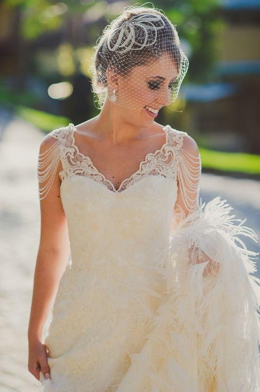 Noiva de voillet - Casamento vintage