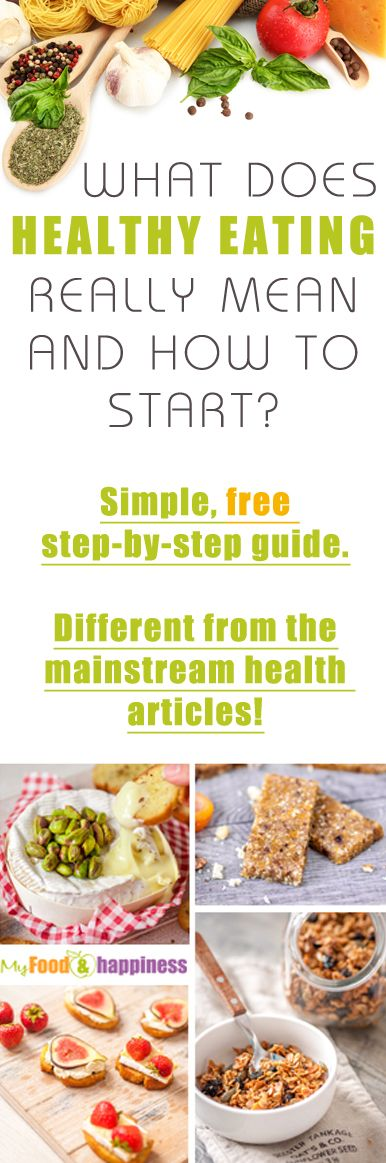 """The mission of this article is to provide free information and resources about what """"healthy eating"""" really is and raise awareness of common mainstream beliefs about healthy food and diets that are not necessarily true. If you are determined to start living better, change your diet for good and permanently lose weight, then this is the place to start! #health #nutrition"""
