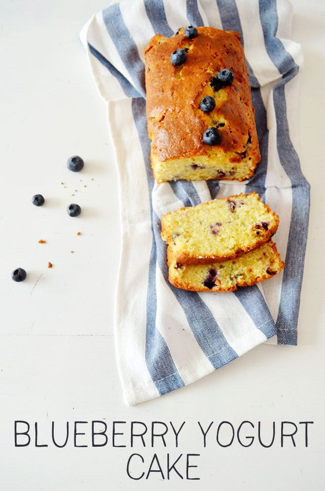 Recipe: Blueberry yogurt cake by Donna Hay