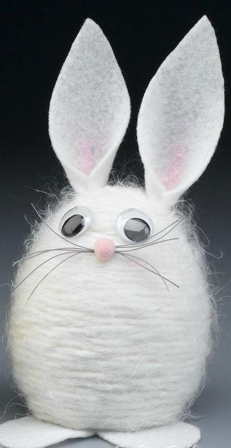 How To Make A Yarn Bunny