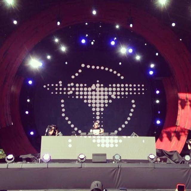 Tiesto opens the Global Citizen Festival 2014