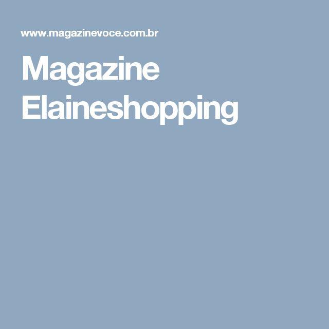 Magazine Elaineshopping
