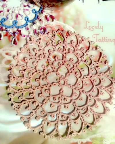 tatting lace tattingdoily