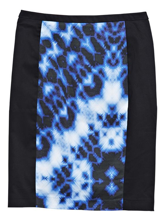 Skirt from Portmans. #kaleidoscope is trending at Westfield New Zealand. Follow us on Pinterest, repin your favourite item and go in the draw to win* a Westfield Gift Card. Terms and conditions apply.