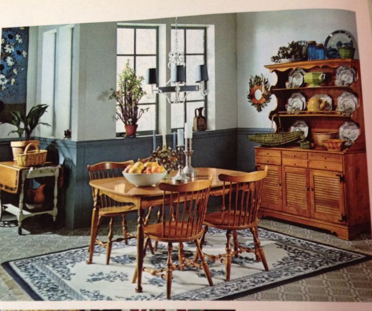 Early American Dining Room Furniture: 160 Best Mid Century Modest: Early American Decor Images On Pinterest