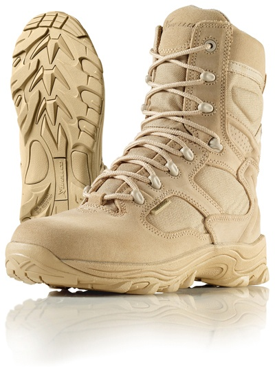 Wellco Mens X-Force 8 Inch Tactical Lightweight Desert Combat Boots