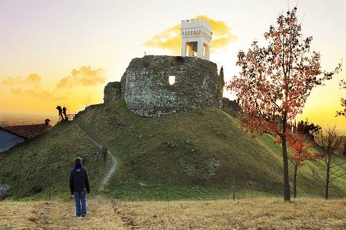 Castello di Fagagna\ Fagagna Castle by Max Short, via Flickr - #friuli #italy #travel #castle #hills