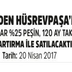 Toki Hüsrevpaşa'daki Dükkanları Açık Artırma İle Satılsa Çıkartıyor