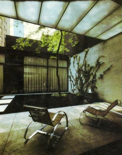 Philip Johnson, Rockefeller Guest house, New York, USA, 1949-1950