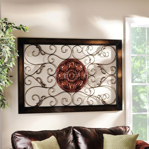 Kirkland Home Metal Wall Art Decor ~ Images about living room on pinterest leather