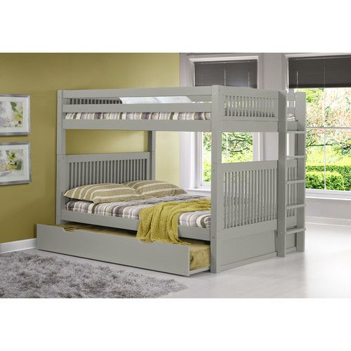 Found it at Wayfair - Full Over Full Bunk Bed with Trundle
