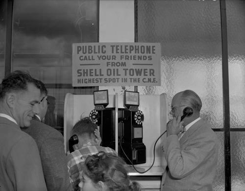 Before smartphones:)  1955
