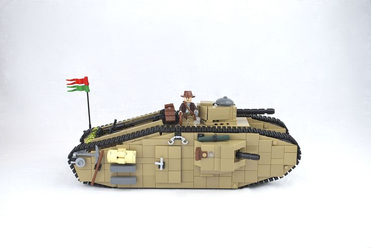 https://flic.kr/p/juPFRH   Mark VIII International Tank from The Last Crusade   The Tank Mark VIII also known as the Liberty or the The International was an Anglo-American tank design of the First World War intended to overcome the limitations of the earlier British designs and be a collaborative effort to equip France, the UK and the US with a single heavy tank design.  The tank appearing in the 1989 Indiana Jones and the Last Crusade movie was a replica vehicle made from an excavator…