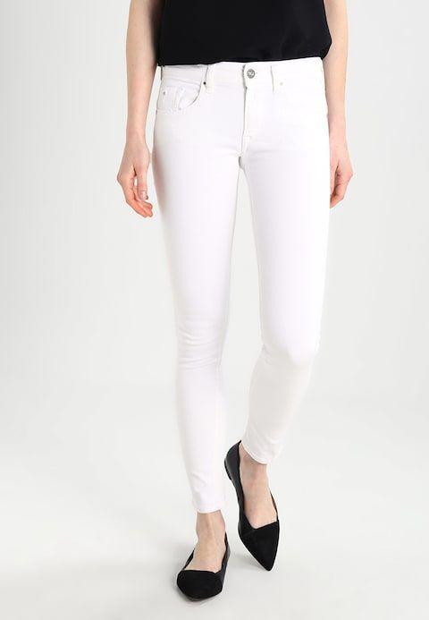 the latest aa755 12aa5 LUZ BACK ZIP - Jeans Skinny Fit - white @ Zalando.de ...