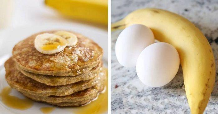 Egg er en herlig ingrediens, og inngår i de fleste daglige måltid i nesten alle hushold. Egg inneholder mye vitaminer, omega-3 fettsyrer og proteiner, og bidrar dermed til vekt-minsking, behandler inflammasjoner og forebygger hjertesykdommer. På andre siden er bananer også veldig næringsrike, og om de brukes i en oppskrift har de ulike helsefordeler, samt om
