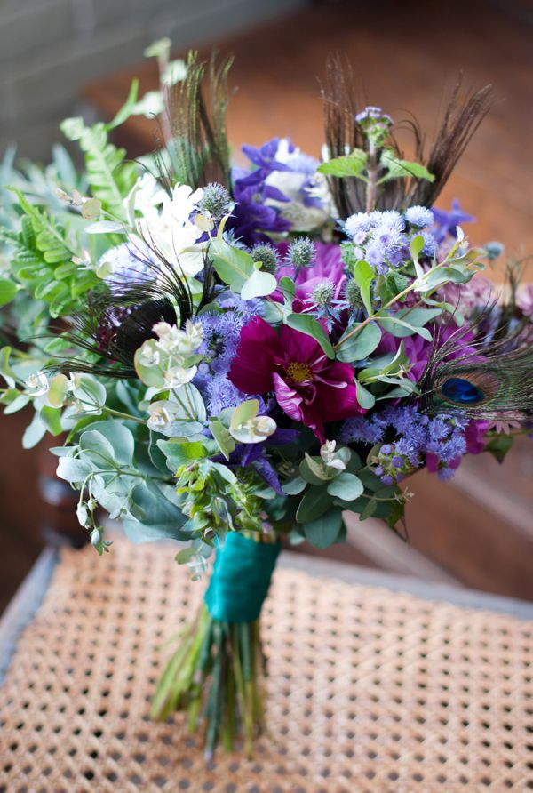 Beautiful blue and purple blooms