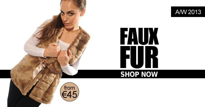 COSY FAUX FUR. NOW IN STOCK. www.flyingf.ie