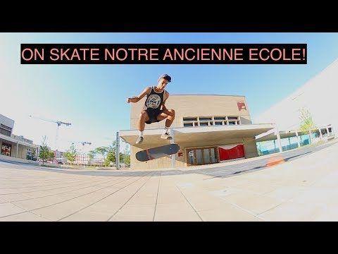 ON SKATE NOTRE ANCIENNE ECOLE! – Art Videos: Source:Art Videos