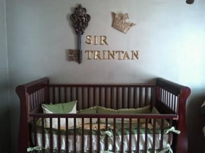 Our baby prince,Trintan's, A LOT of time went into decorating but it was worth every minute because our baby prince's nursery is fit for a king! And since most of the decor for his