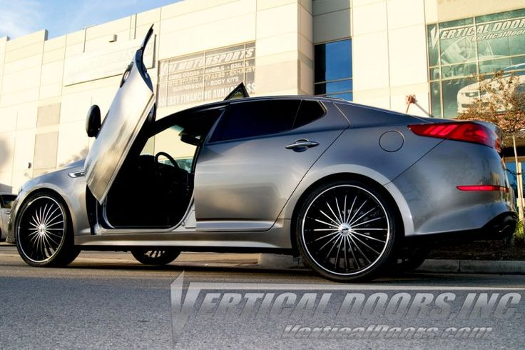 Add much more style and fun to your Kia Optima with the stylish Lambo doors by Vertical Doors  Shop Now, Visit at http://verticaldoors.com/kia/optima-11-15/lambo-doors/kia-optima-2011-2015-vertical-lambo-doors  For Sales and Installations, Call us Today at 951.245.8669  #kia #optima #cars #lambodoors #autoaccessories #madeinusa #patentedinusa #sales #installation #shoponline #bestprice #verticaldoors #verticaldoorsinc