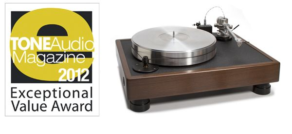 "The VPI Classic 1 Turntable (originally featured in issue 46) ""Begin with the Classic 1 and just start playing records, dammit."" Exceptional Value Award"