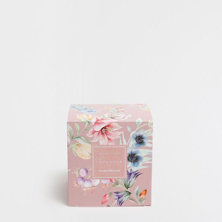 ORANGE BLOSSOM CYLINDRICAL CANDLE - Orange Blossom - Scents - Fragrances | Zara Home United Kingdom
