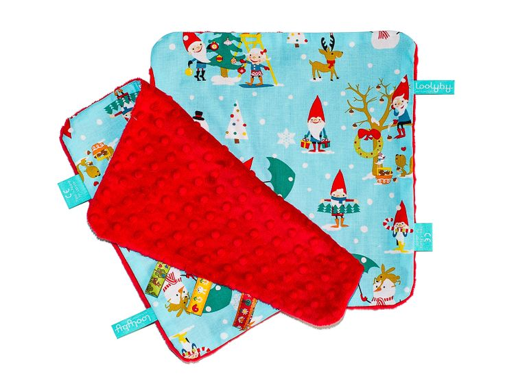 xmas loolanky - mini blanket