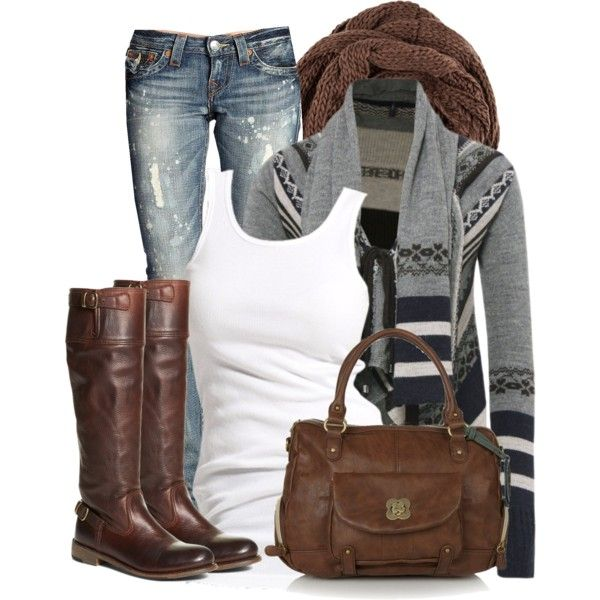 Chic Outfits | Cozy Aztec | Fashionista Trends