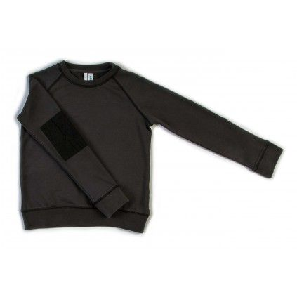 Basic Windcheater - Faded Black - Tops - Boys