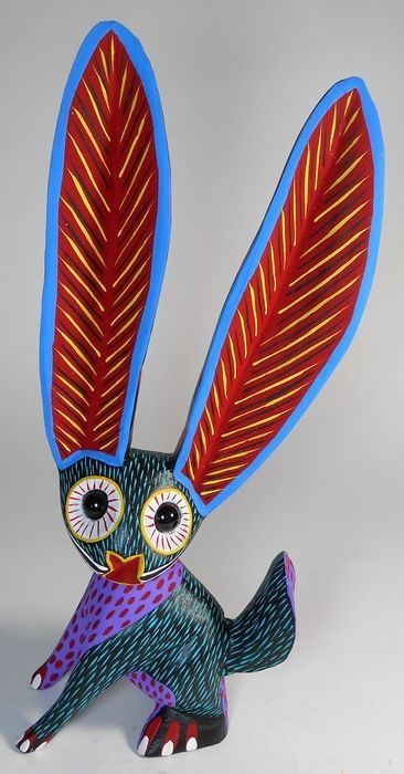 Oaxacan ALEBRIJE Mexican Folk Art✋Oaxacan ✋Mexican ArtMore Pins Like This At FOSTERGINGER @ Pinterest✋