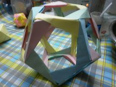 Como Hacer Origami de Figuras Geometricas (poliedros)