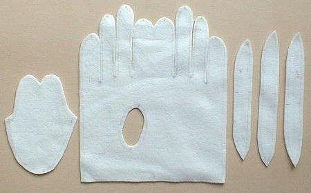 Solountip.com: Como hacer guantes de tela