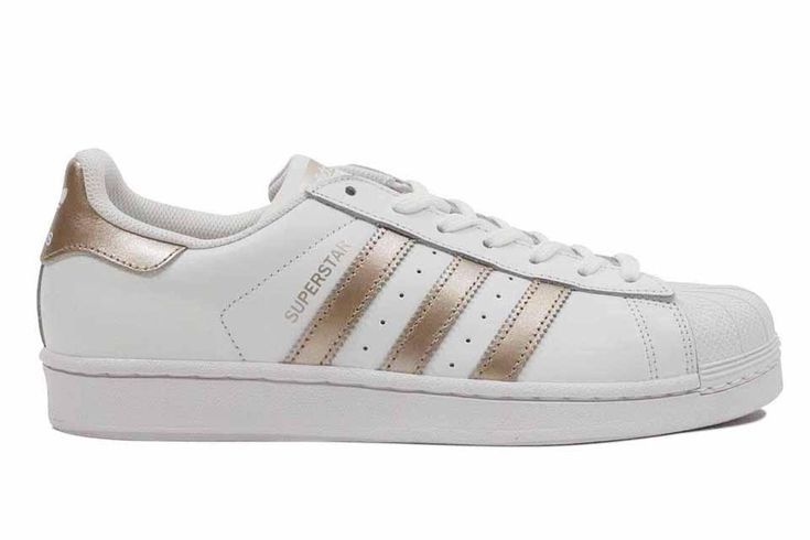 "Adidas Super Star Women's ""White/Gold"""