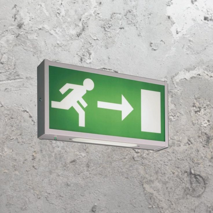 Eurolighting | Products | Emergency Exit Sign Light EW0202 | UK |