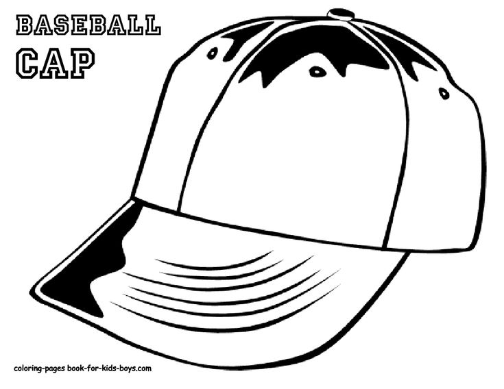 Coloring Pages Kidsboys : 20 best baseball coloring pages images on pinterest