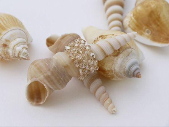 Bridal Jewelry sets Ivory Swarovski Ring by DesignByIrenne on Etsy