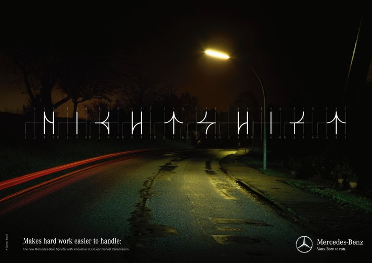 「NIGHT SHIFT(夜勤)」Makes hard work easier to handle. The new Mercedes-Benz…