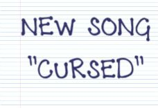 New SONG! Check it out at: http://madeforsou.com/2014/10/cursed.html