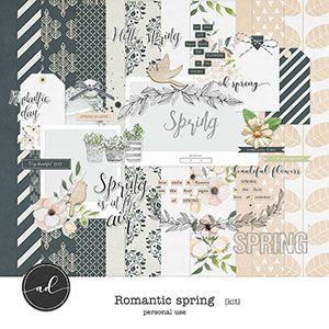 Romantic Spring - Kit