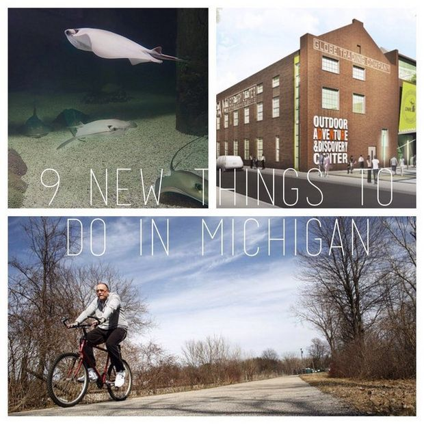 The Pure Michigan tourism brand has been built around exciting experiences in the state of Michigan. Here are some new ones coming to the state in 2015.