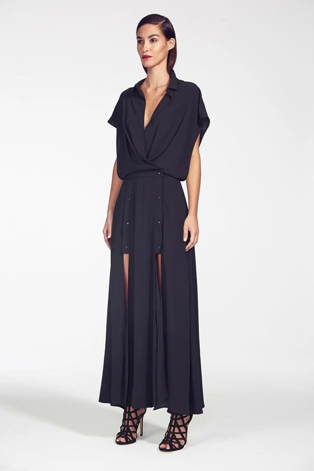 Bless'ed Are The Meek - Beneath Shirt Dress - Black