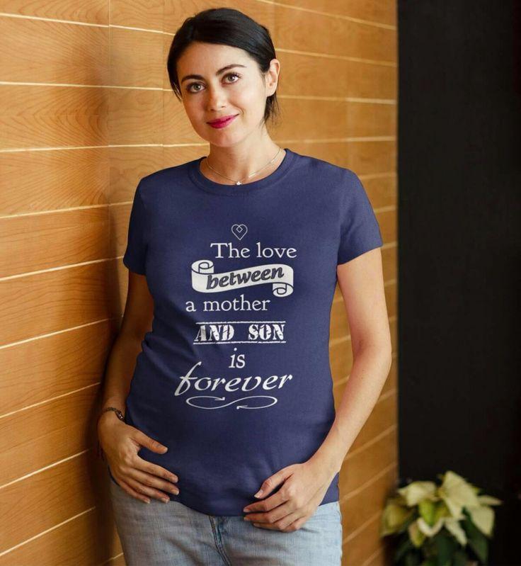 Requested custom-designed shirt    #mom #mommasboy #love #heart #stolemyheart #boy #expecting #pregnant #women #tee #tan...