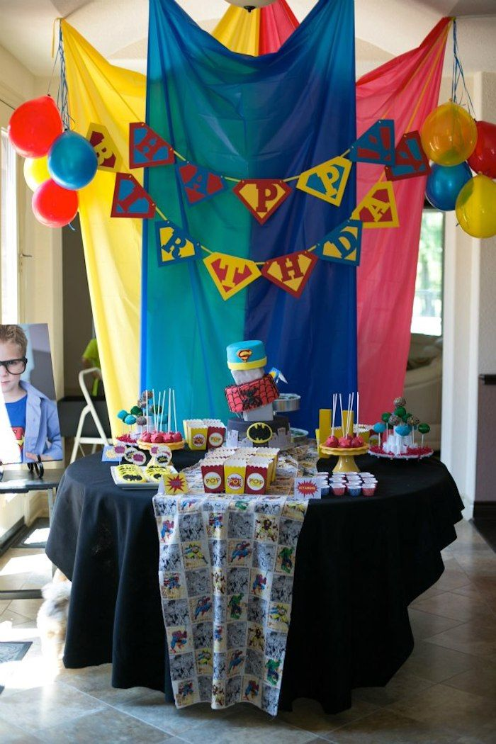 Best 25 Superhero party decorations ideas on Pinterest