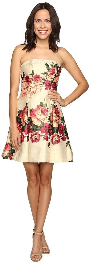 Beautiful Metallic Party / summer Dress | floral dress | #partywear | #floraldress
