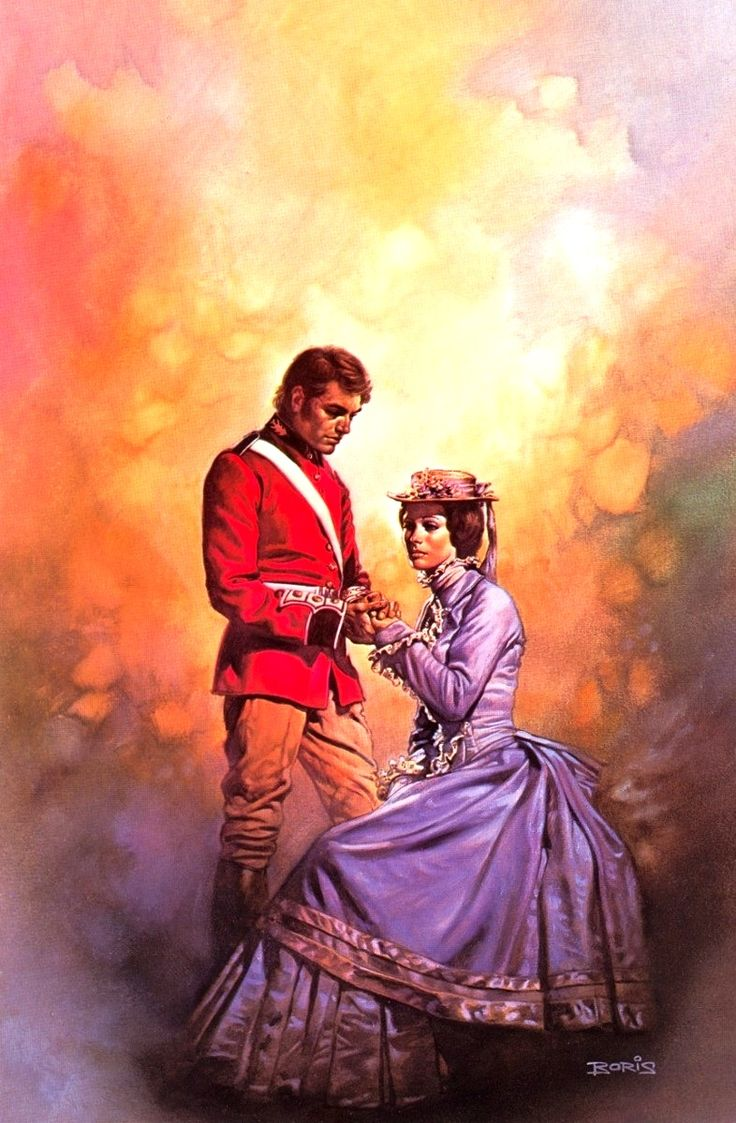 The Master and The Maiden / 1977 (Boris Vallejo)