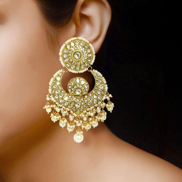 Earring Designs In Gold For Marriage For Brides With Inspiration Gold Earrings Designs Designer Earrings Latest Earrings Design