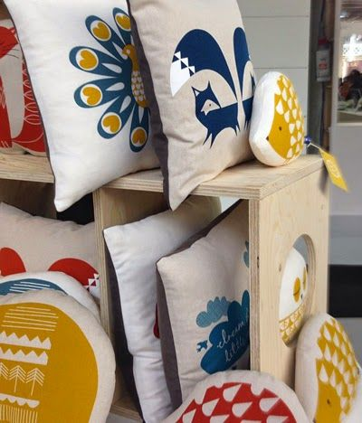 print & pattern blogs - robin & mould at Top Drawer
