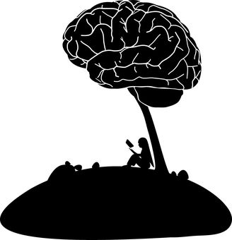해부학, 생물학, 뇌, 만화, 대학, 두개골, 교육, 공상