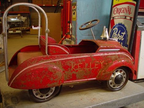 find this pin and more on old kid wagons pedal cars