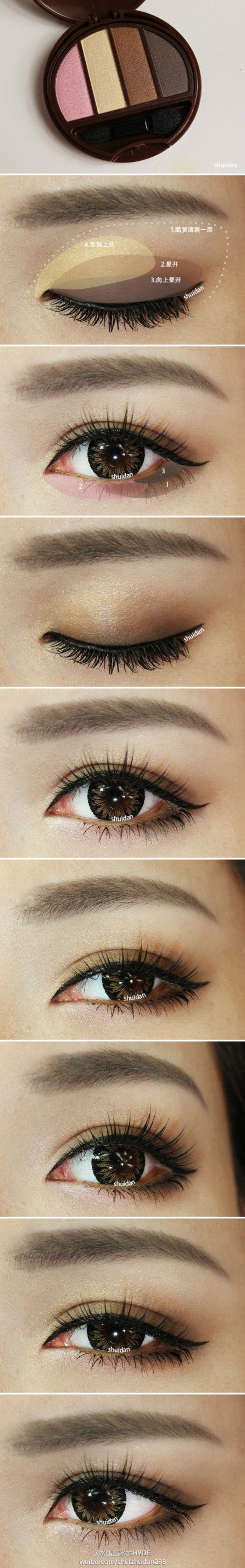 Les 504 meilleures images du tableau makeup asian eyes sur soft natural smokey eye make up baditri Gallery